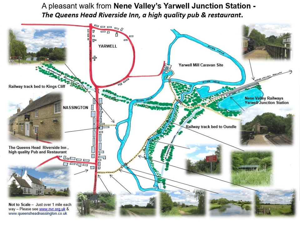 Yarwell Stn and nearby Vilages