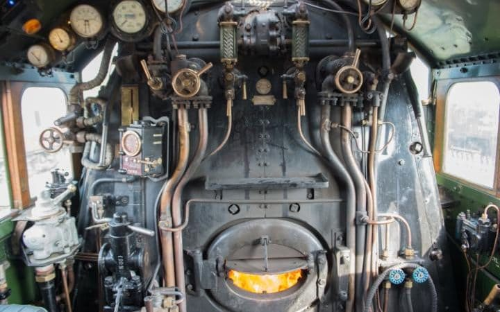 Flying Scotsman Visit the Footplate