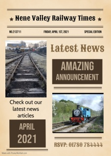 Latest Nene Valley Railway News